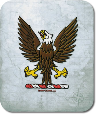Eagle of Heraldry Mouse Pad